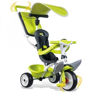 Tricicleta Smoby Baby Balade green [2]