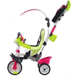 Tricicleta Smoby Baby Driver Comfort pink [4]