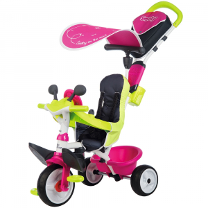 Tricicleta Smoby Baby Driver Comfort pink [0]