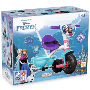 Tricicleta Smoby Be Fun Frozen4