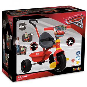 Tricicleta Smoby Be Move Cars 3 [4]
