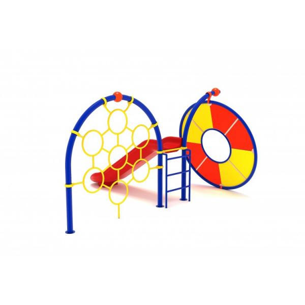 14YN Seria Franghie Echipament loc de joaca cu Tobogan si Cățărătoare 1