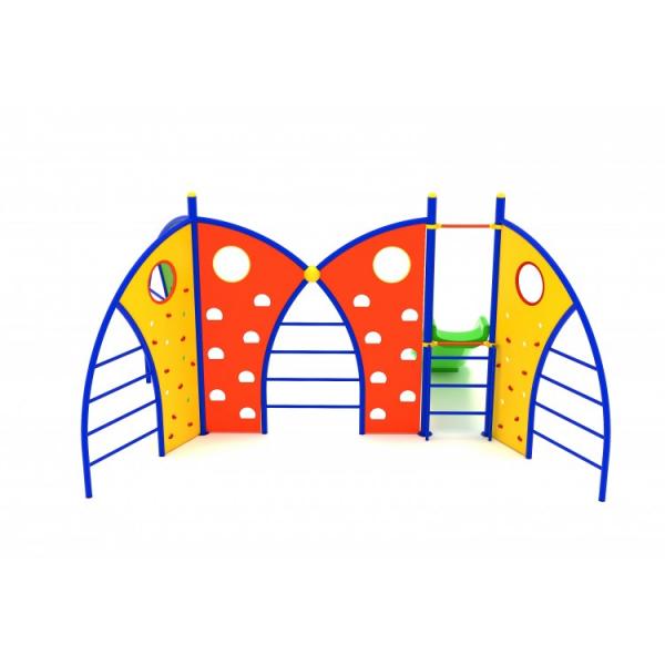 15YN Seria Franghie Echipament loc de joaca cu Tobogan si Cățărătoare 1