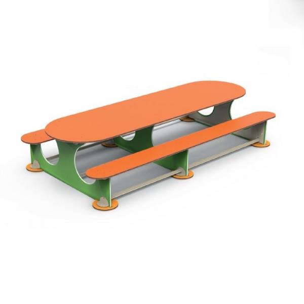PK.16503/A Masuta cu 8 locuri Element loc de joaca exterior 0
