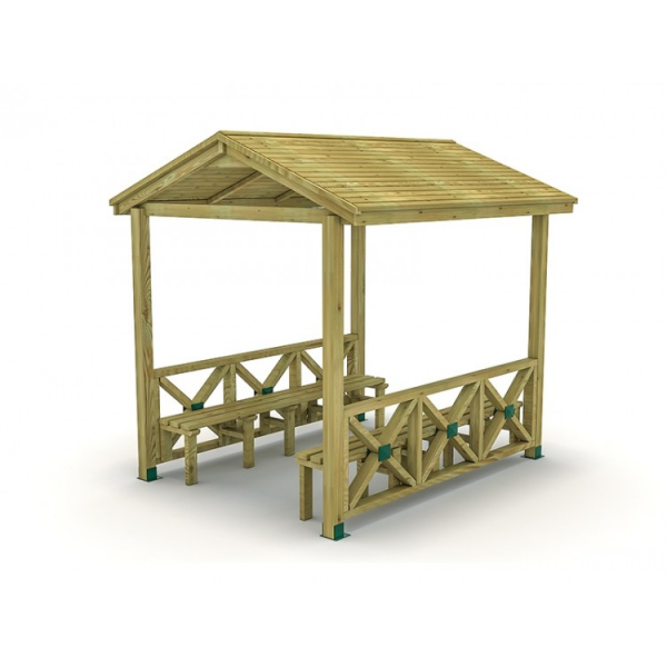 30EG Mobilier Urban Pergola lemn dizabilitati [0]