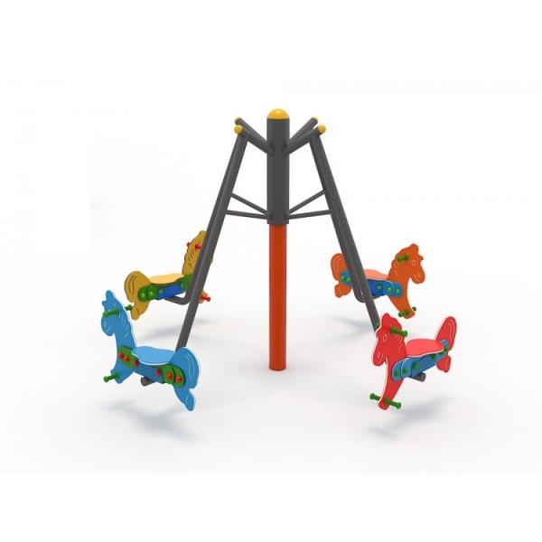 36OE Carusel rotativ Element loc de joaca Caluti cu 4 locuri 3