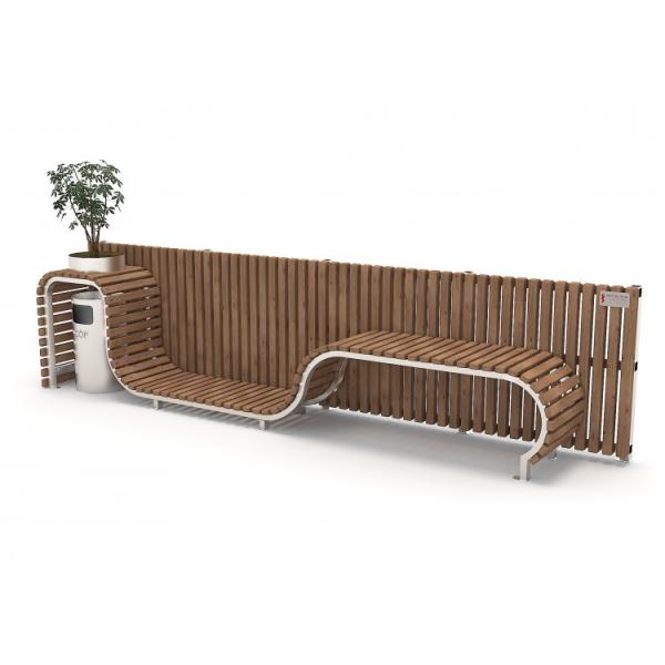 46B Mobilier urban stradal Banca exterior parc 0