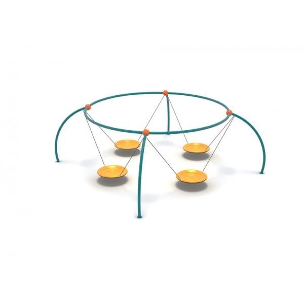 47OE Leagăn Element loc de joaca cu 4 Pendule [0]