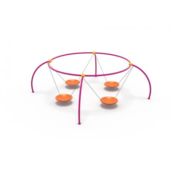 47OE Leagăn Element loc de joaca cu 4 Pendule [1]