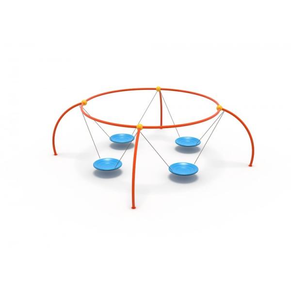 47OE Leagăn Element loc de joaca cu 4 Pendule [2]