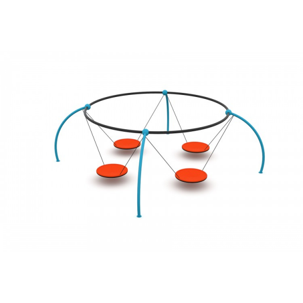 47OE Leagăn Element loc de joaca cu 4 Pendule [3]