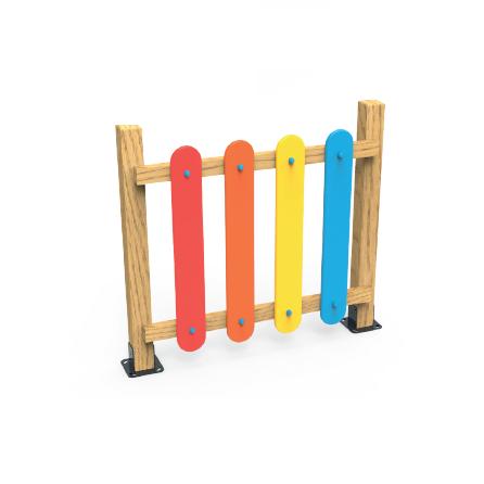 PK.46006/A Gard de împrejmuire loc de joacă 0