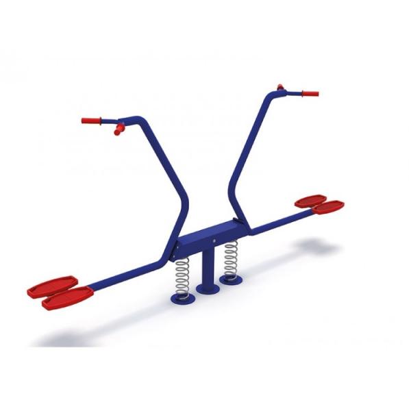 62OE Balansoar Element loc de joaca pe arc cu 2 locuri 0