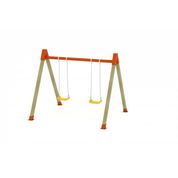 72OE Leagăn Element loc de joaca cu 2 locuri [2]