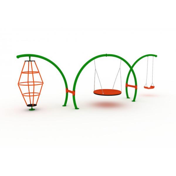 85OE Seria ARC Element loc de joaca Cataratoare rotativa Pendul Leagan 1