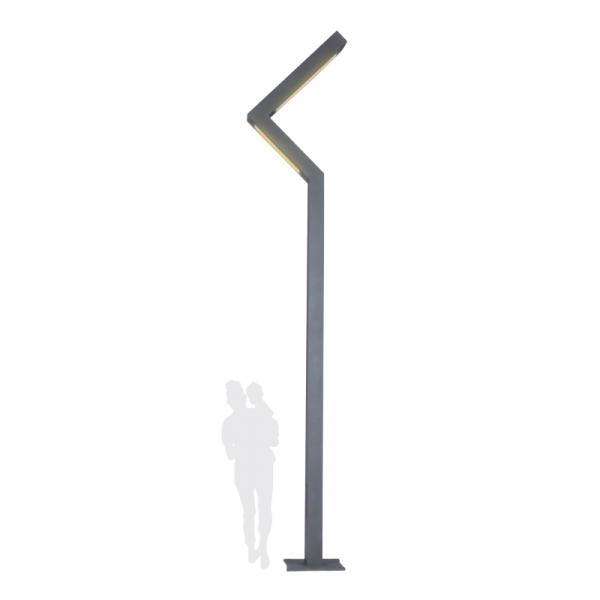 A2036 Stalpi de iluminat moderni stradali alei pietonale si parcuri 0
