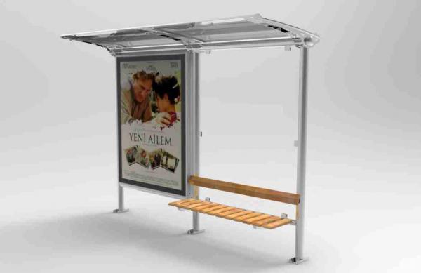DAR TIP 1 Mobilier urban stradal Statii de autobuz din otel inoxidabil 0