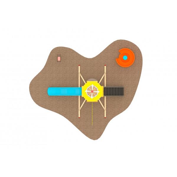 10 Oferta speciala Echipamente loc de joaca Elicopter Scara Tobogane Figurina arc si Carusel 2
