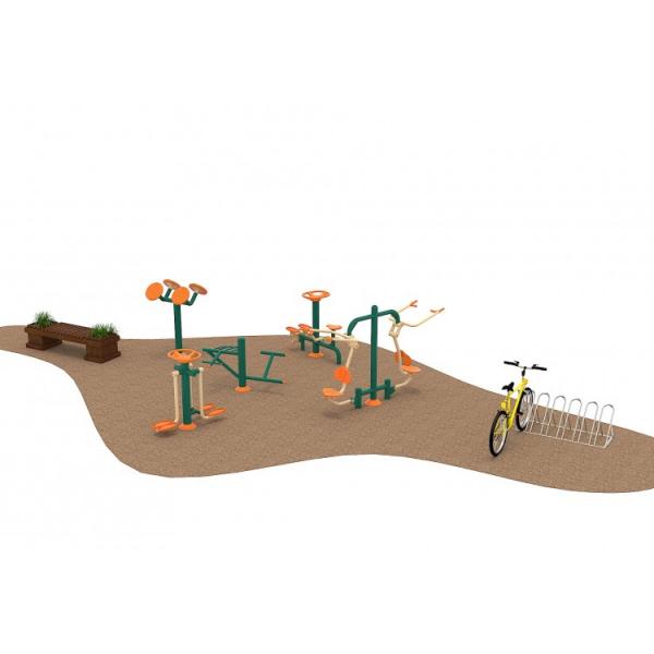 14 Oferta speciala Ansamblu echipamente Fitness Banca si Rastel Biciclete 1