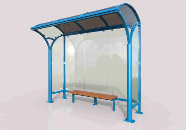 KAMELYA Mobilier urban stradal Statii de autobuz din metal vopsit 0