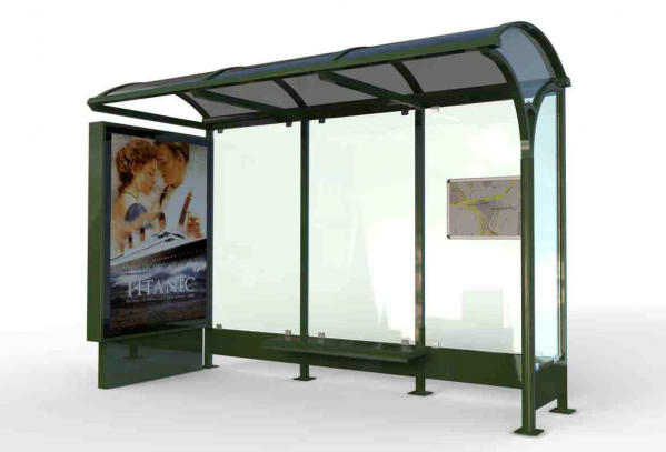 ZAMBAK Mobilier urban stradal Statii de autobuz din metal vopsit 0