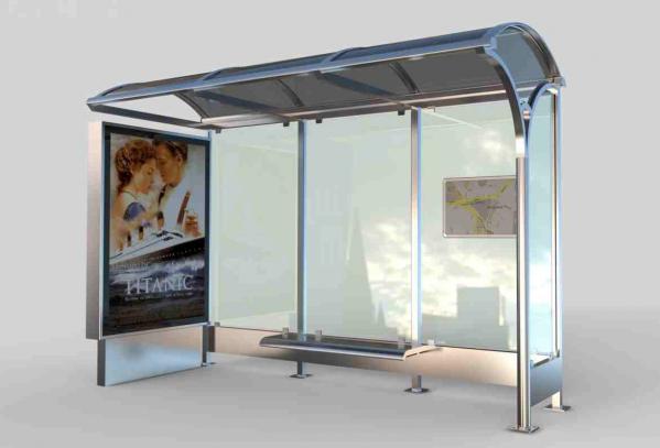 ZAMBAK Mobilier urban stradal Statii de autobuz din metal vopsit 1
