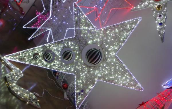 Decorațiune de Crăciun Deco Star 3D 0