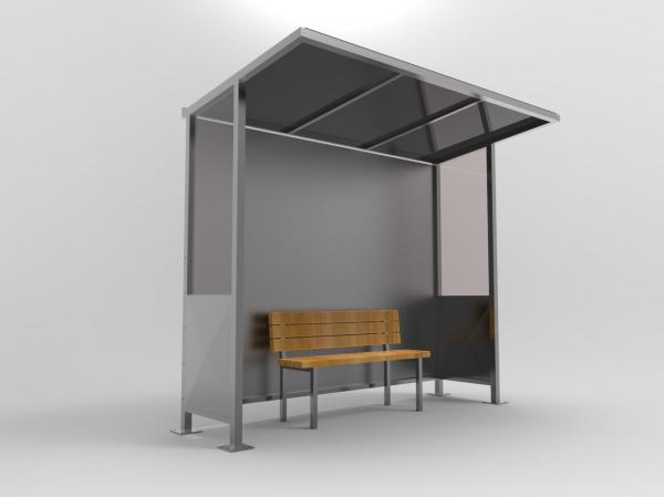 DEFNE Mobilier urban stradal Statie de autobuz [1]