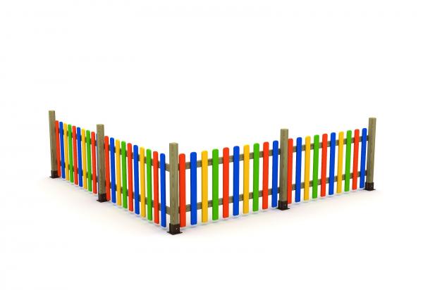 Gard de împrejmuire loc de joacă 0