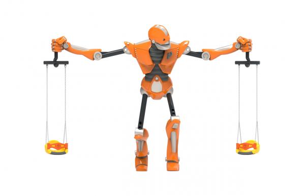 PK.15010/A Leagăn Element loc de joaca ROBOT [1]