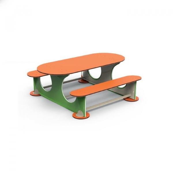 PK.16502/A Masuta cu 6 locuri Element loc de joaca exterior 0