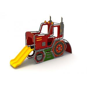 03YN Seria HDPE Echipament loc de joaca Tractor cu Tobogan si Cățărătoare [0]