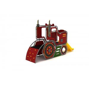 03YN Seria HDPE Echipament loc de joaca Tractor cu Tobogan si Cățărătoare [1]