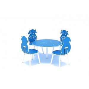 111OE Element Loc de joaca interior Masa cu 4 scaune1