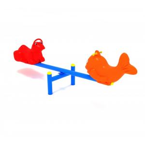 118OE Balansoar Element loc de joaca figurine animale cu 2 locuri1
