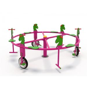 50OE Carusel rotativ Element loc de joaca Biciclete cu 6 locuri1