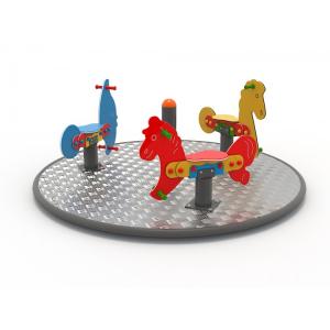 56OE Carusel rotativ Element loc de joaca Căluți [2]