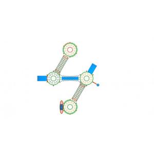 09YN Seria Franghie Echipament loc de joaca cu Cățărătoare si Activitati complexe2