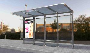EBRULI 02 Mobilier urban stradal Statii de autobuz din otel inoxidabil [1]