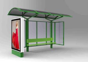 EZGI Mobilier urban stradal Statii de autobuz din metal vopsit0