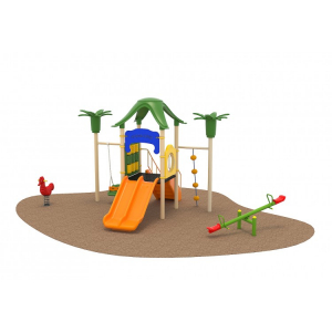 01 Oferta speciala Ansamblu echipamente loc de joaca Scara Tobogan Cataratoare Leagan Balansoar Figurina arc0