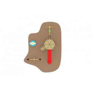12 Oferta speciala Echipament loc de joaca din lemn Scara Tobogan 2 Cataratoare Balansoar Carusel si Leagan [2]