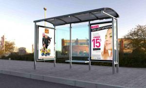 REYHAN Mobilier urban stradal Statii de autobuz din otel inoxidabil1
