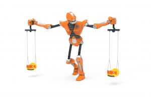 PK.15010/A Leagăn Element loc de joaca ROBOT [0]