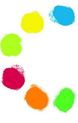 6 culori de pictat cu mâna Djeco 1