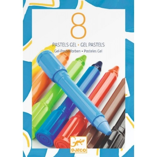 8 Culori gel Djeco 0