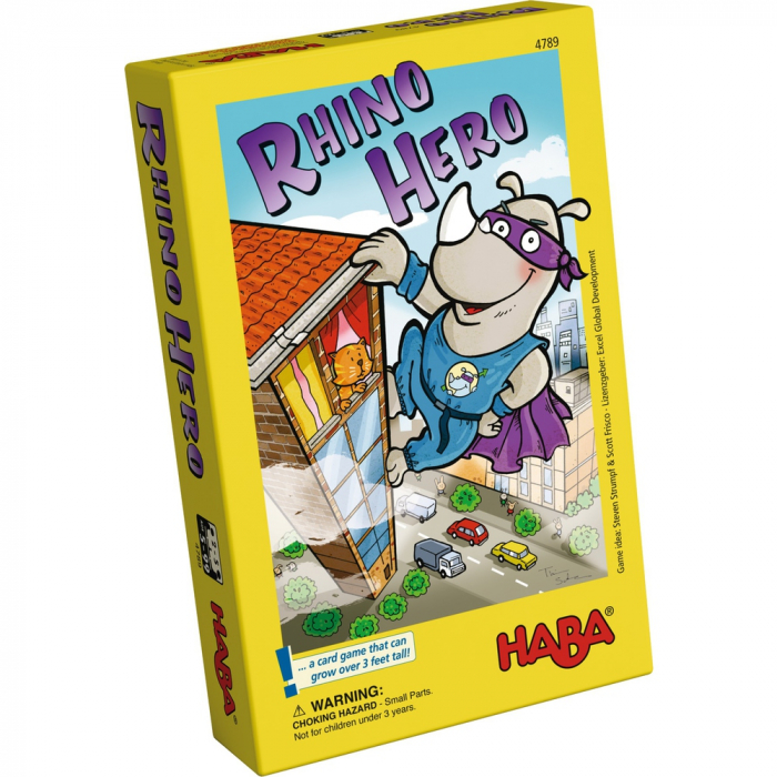 Rhino Hero, joc de atenție și îndemânare 0