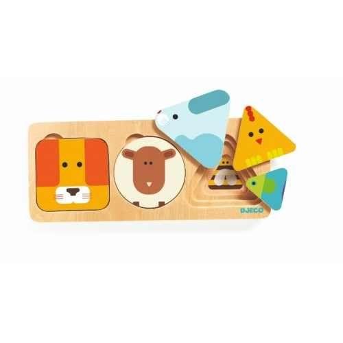 Anima Basic Djeco - puzzle bebelusi [0]