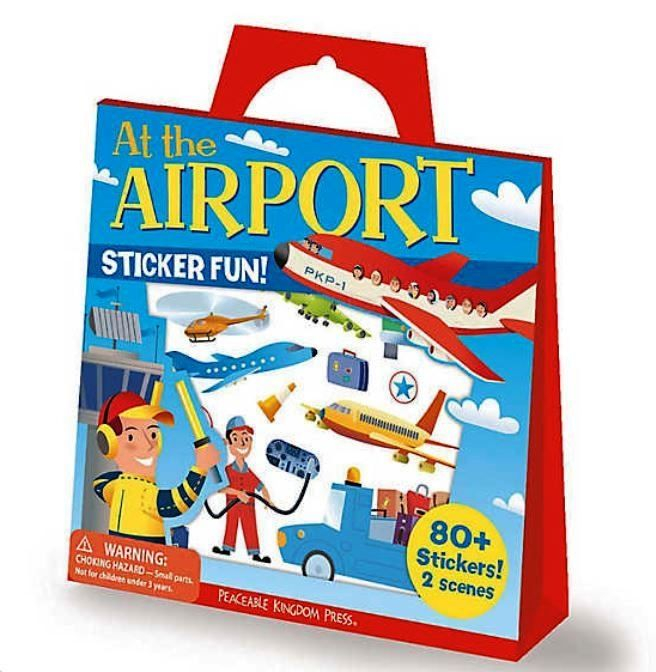 At The Airport Reusable Stickers 0