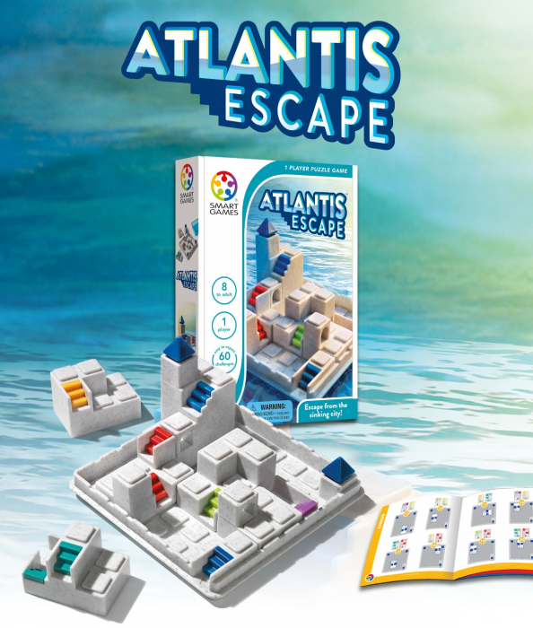 Atlantis escape, Smart Games 1